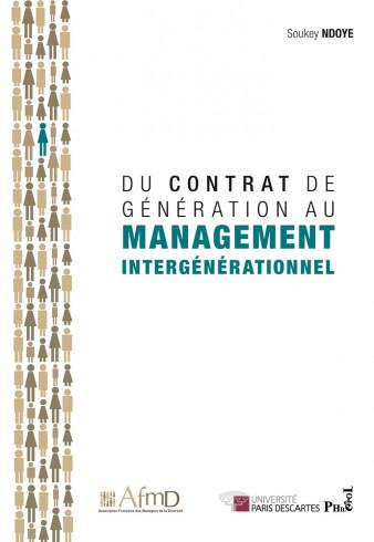 Du contrat de génération au management intergénérationnel (Livre)