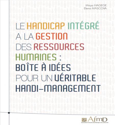 """E-book """"Le handicap intégré à la gestion des ressources humaines"""""""