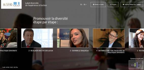"""Site vidéo """"Label diversité : de l'expérience à l'action"""""""